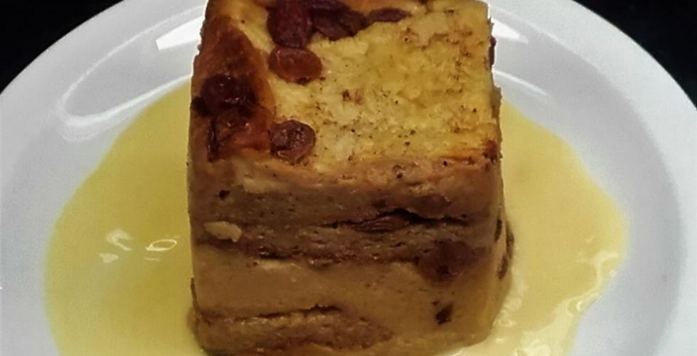 Carvery – Bread and Butter Pudding